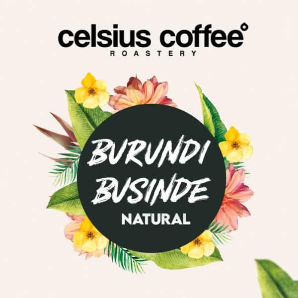 Burundi Businde Natural Filtre Kahve