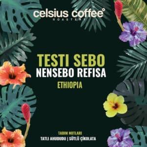 Etiyopya Testi Sebo Nensebo Rafisa Natural – Filtre Kahve